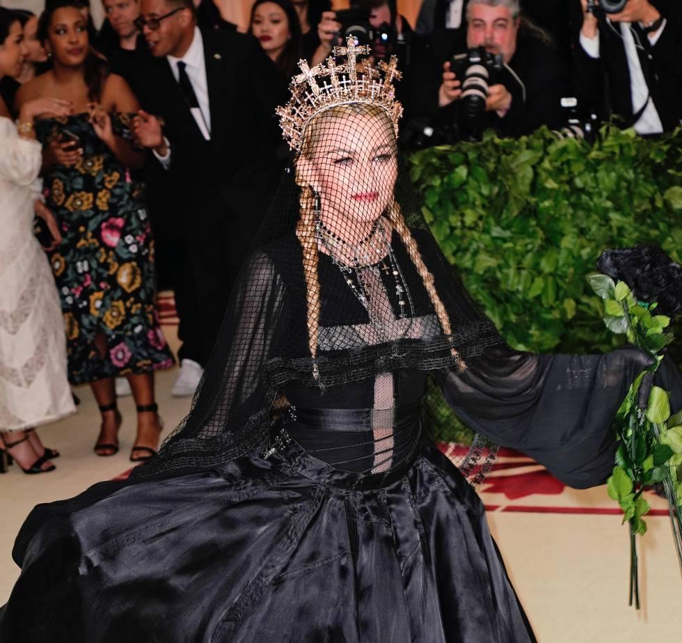 Madonna en la gala del Museo Metropolitano de Nueva York en mayo de 2018.