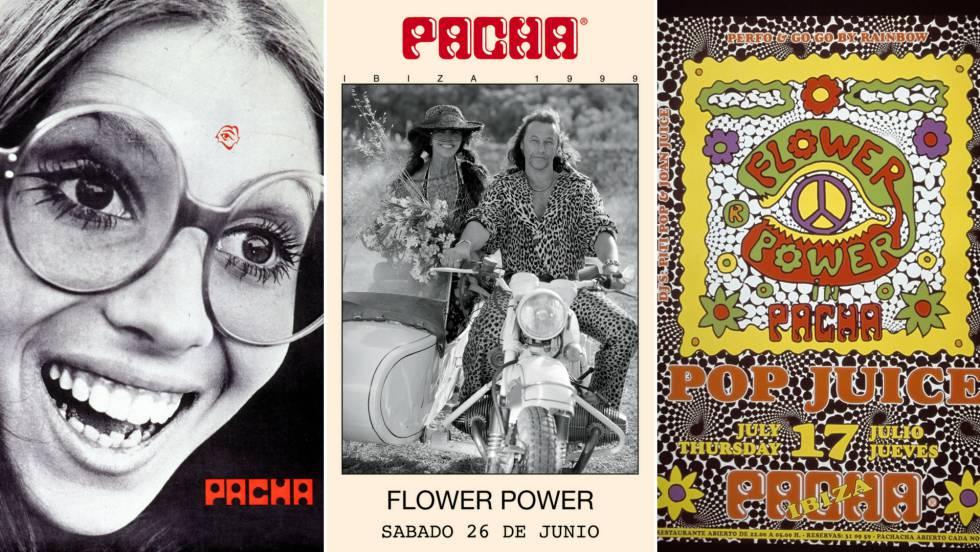 Tres posters de Pacha Ibiza