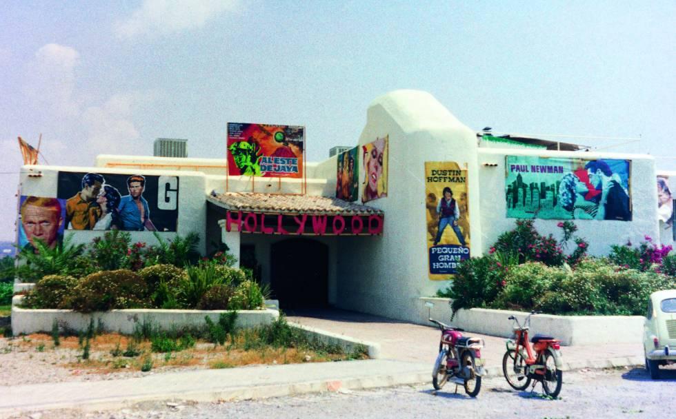 Pacha, decorada para una fiesta con temática de Hollywood, en 1973.