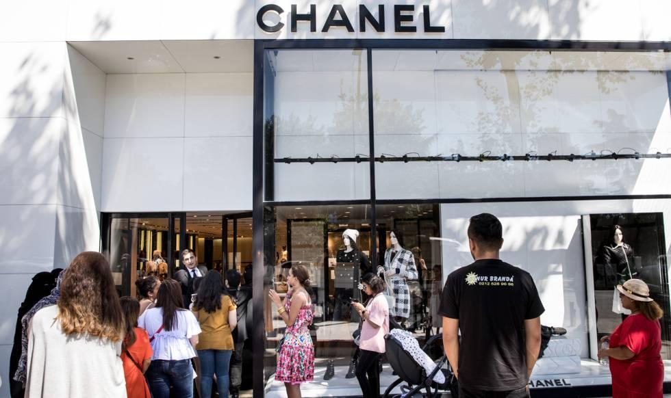 Una tienda de Chanel  en Estambul.