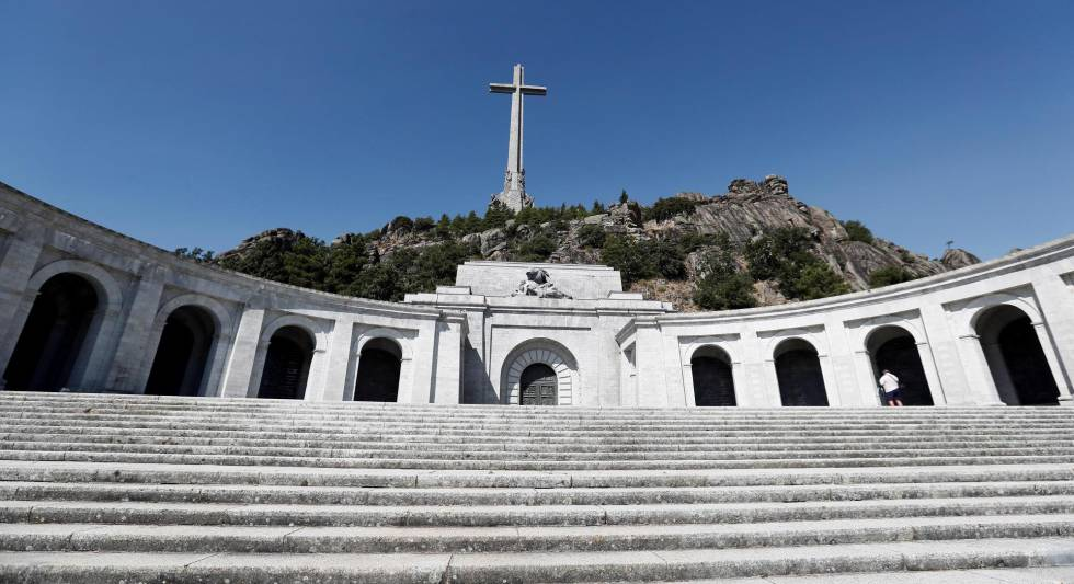 Vista de la explanada del Valle de los Caídos.
