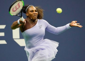 El estilo de Serena Williams en la pista