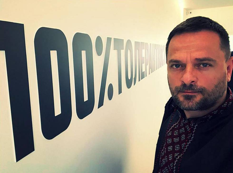 Dmytro Sherembey en una imagen de su archivo personal.