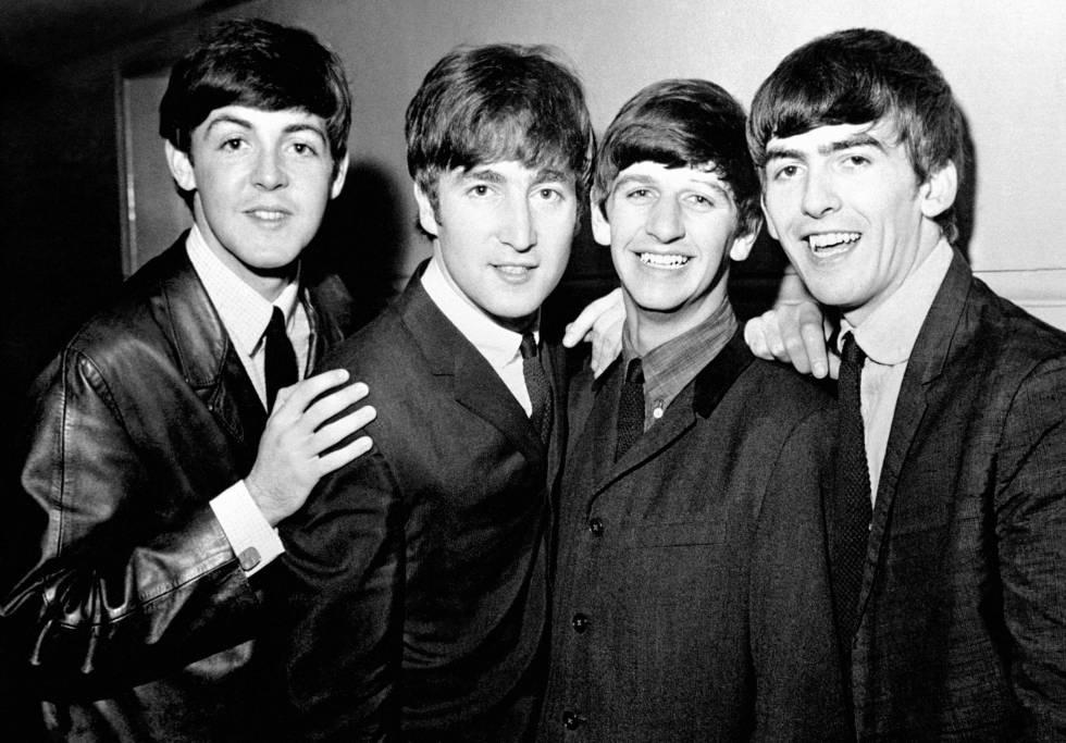 Los Beatles el 1 de junio de 1963.