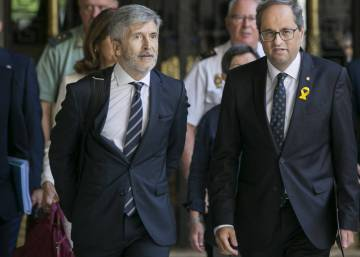 "Minister, Catalan interior chief agree on need for ""neutrality"" in public spaces"