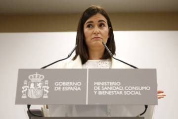 Carmen Montón recently quit as health minister over an academic scandal.