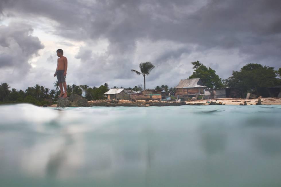 Una imagen del documental sobre Kiribati.