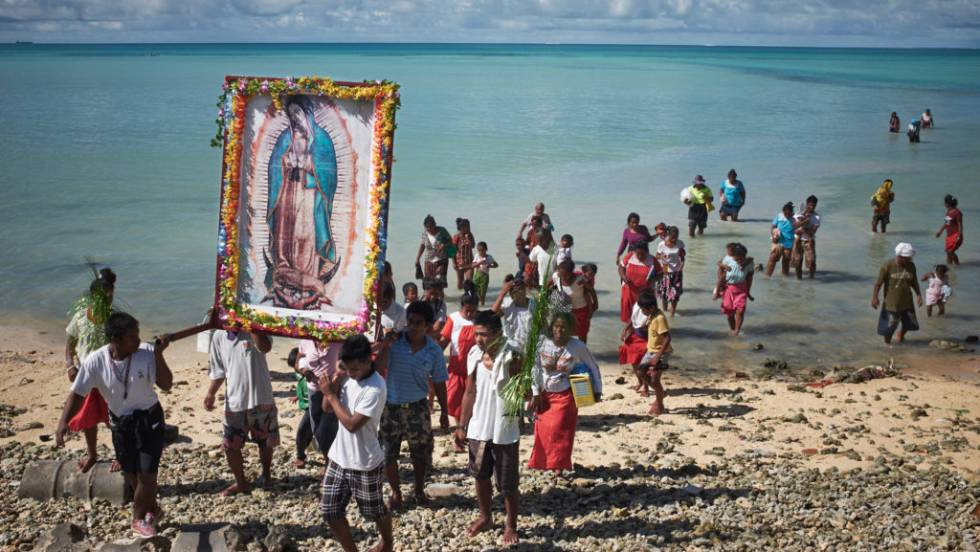 """Trailer do documentário Anote's Ark (""""a arca de Anote""""), de Matthieu Rytz, sobre a situação ambiental de Kiribati."""