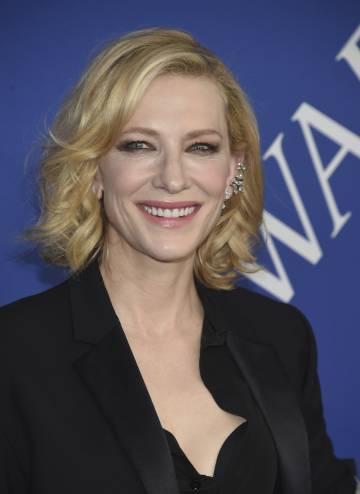 La actriz Cate Blanchett en 2018.