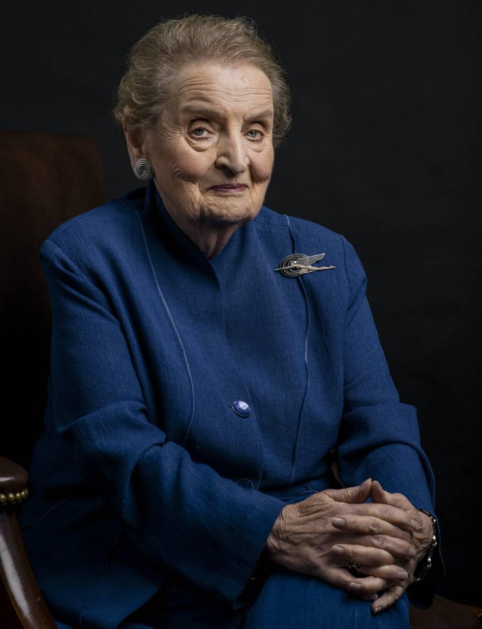 """Madeleine Albright: """"O patriotismo é uma coisa, é bom, mas o nacionalismo radical é muito perigoso"""""""