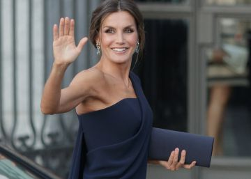 Letizia se viste de estrella de Hollywood