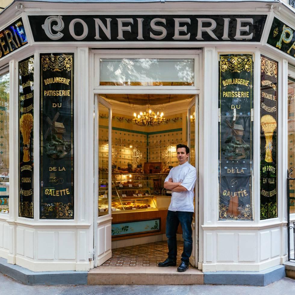 La pastelería Boris forma parte de la lista de monumentos históricos de París.