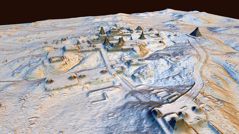 Laser revela toda a grandeza da civilização maia