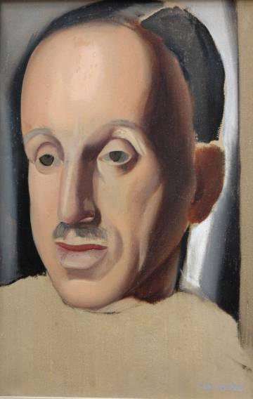 El retrato inacabado de Alfonso XIII atribuido a la artista ruso-polaca. Fue pintado en 1934.