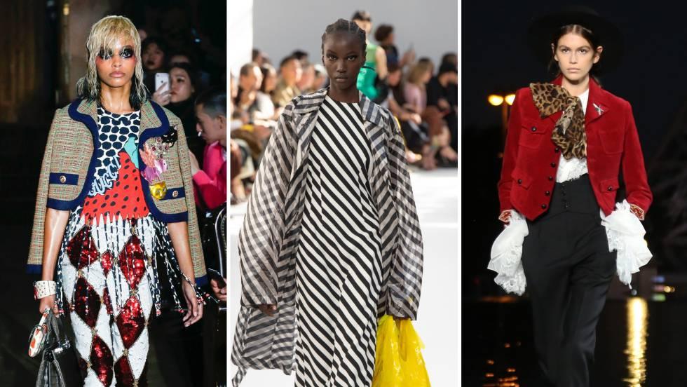 Semana de la Moda  Colorismo y teatralidad en el  prêt-à-porter  de ... 9fe4cdc7abf1