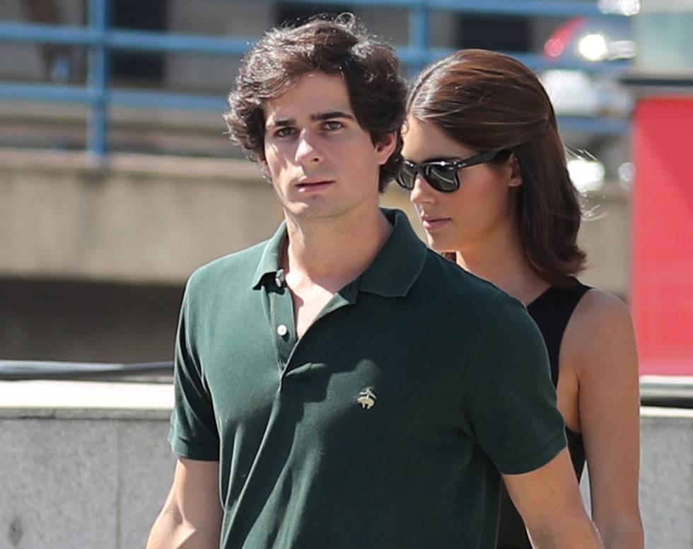 Fernando Fitz James Stuart y su novia Sofía Palazuelo.