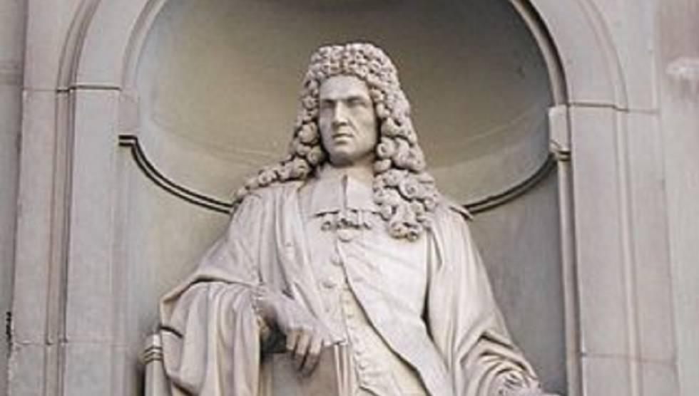 Estatua de Francesco Redi en Florencia.