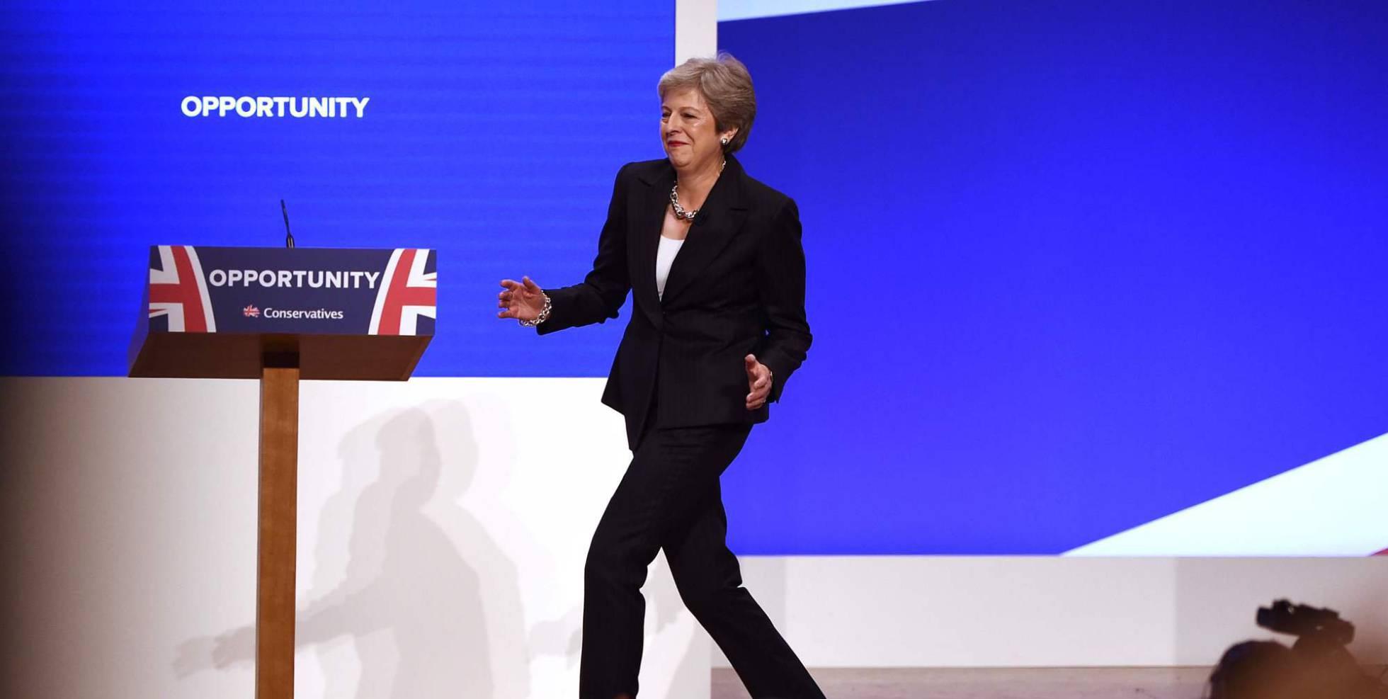 mujeres poderosas Theresa May
