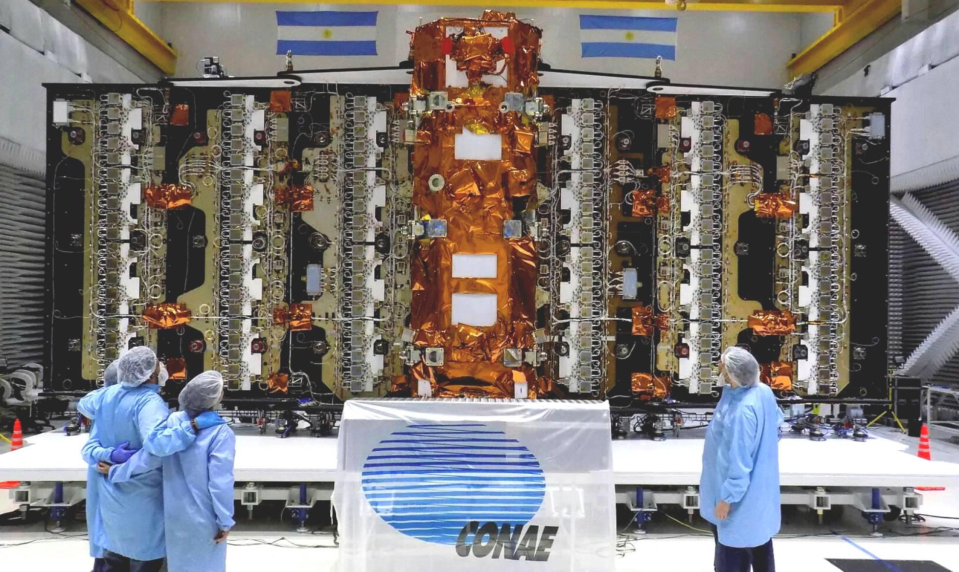  Primer satélite argentino será clave para estudiar futuras inundaciones y sequías de La Tierra