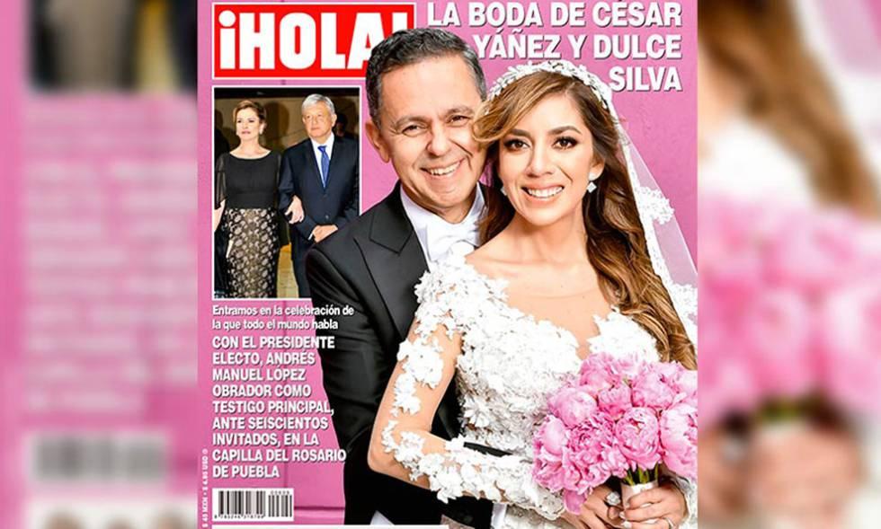 César Yáñez y Dulce Silva, en la portada de '¡Hola!'