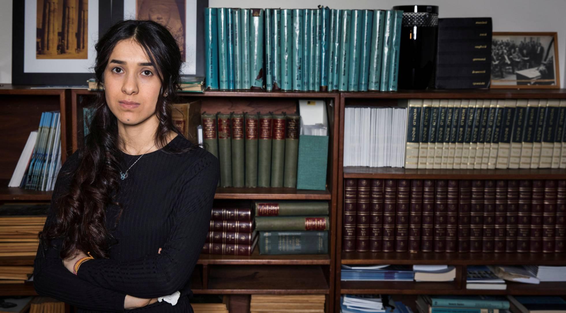 Premio nobel de la paz Nadia Murad