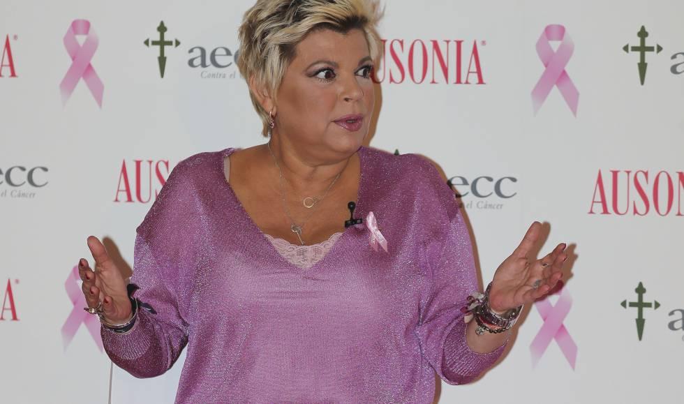 7942d19a4c Terelu Campos explica cómo ha sido su doble mastectomía y la  reconstrucción.