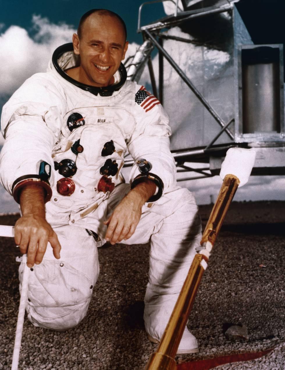 Alan Bean, astronauta y después pintor.