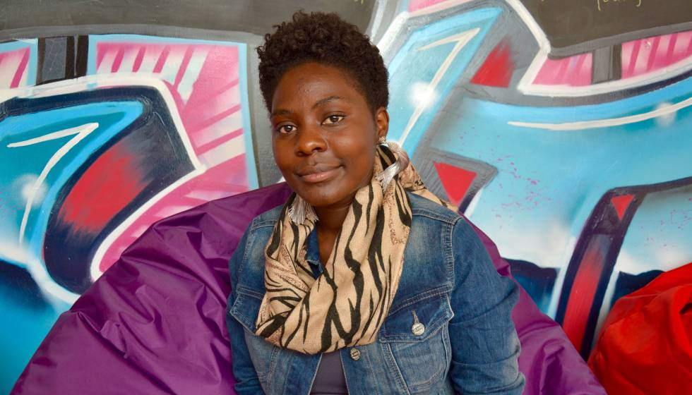 Brenda Bakobye, activista juvenil en las organizaciones Sauti Skika y Maisha youth.