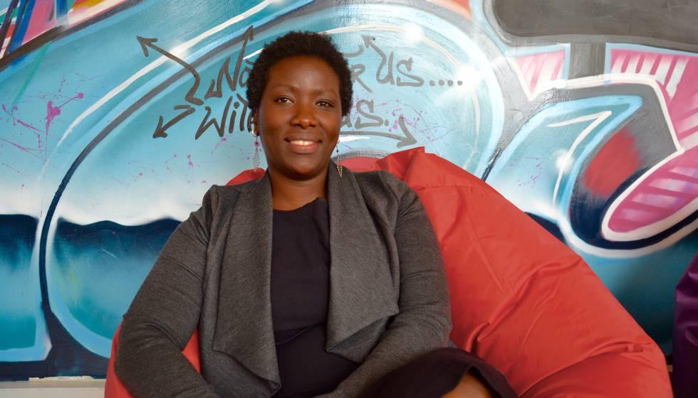 Magdalene Wanjugo, directora ejecutiva de Nairobits Trust.