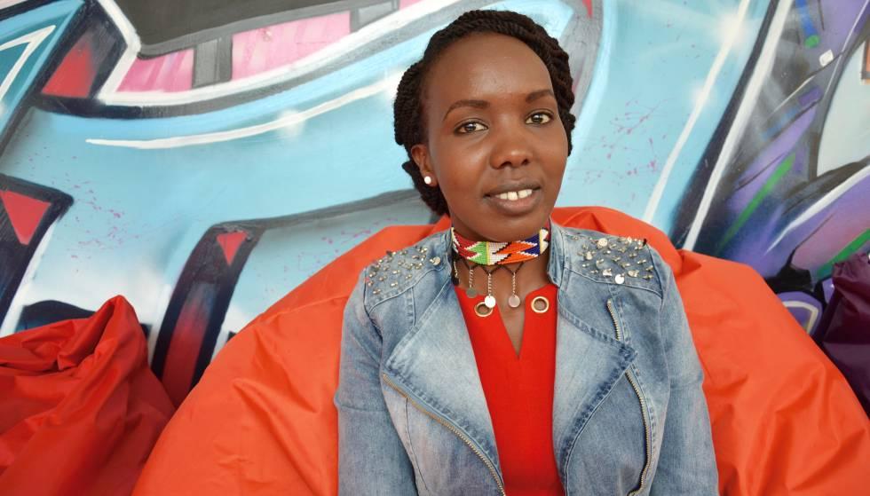 Samwella Lerro, cofundadora de Bright Future Samburu.