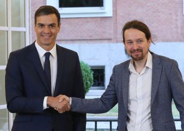 Spain's PM and Podemos leader sign deal for biggest wage hike in 40 years