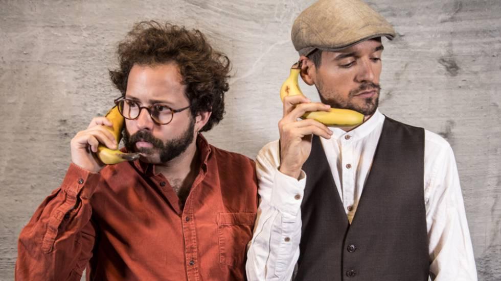 Los 'podcasters' de 'Evolución Digital de un Negocio': Joan Boluda (a la derecha) y Álex Martínez Vidal.