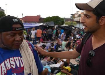 EL PAÍS, con la caravana de migrantes en México