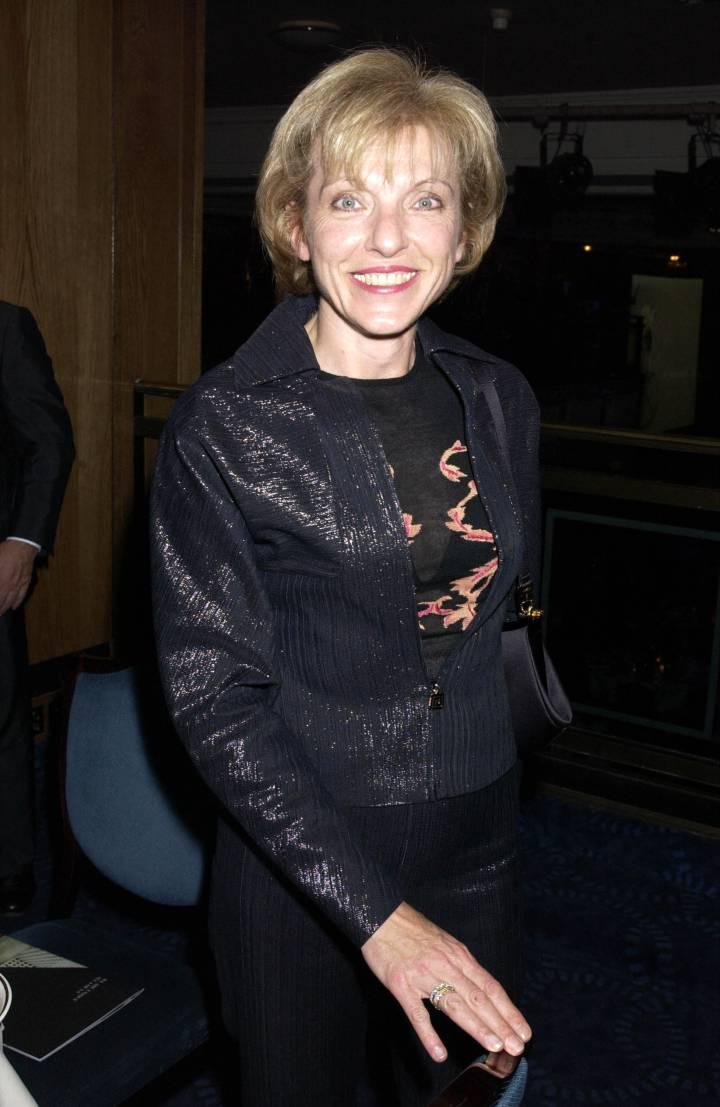 Mary Austin, en una de sus escasas apariciones públicas en una fiesta en Londres en 2002. Getty Images