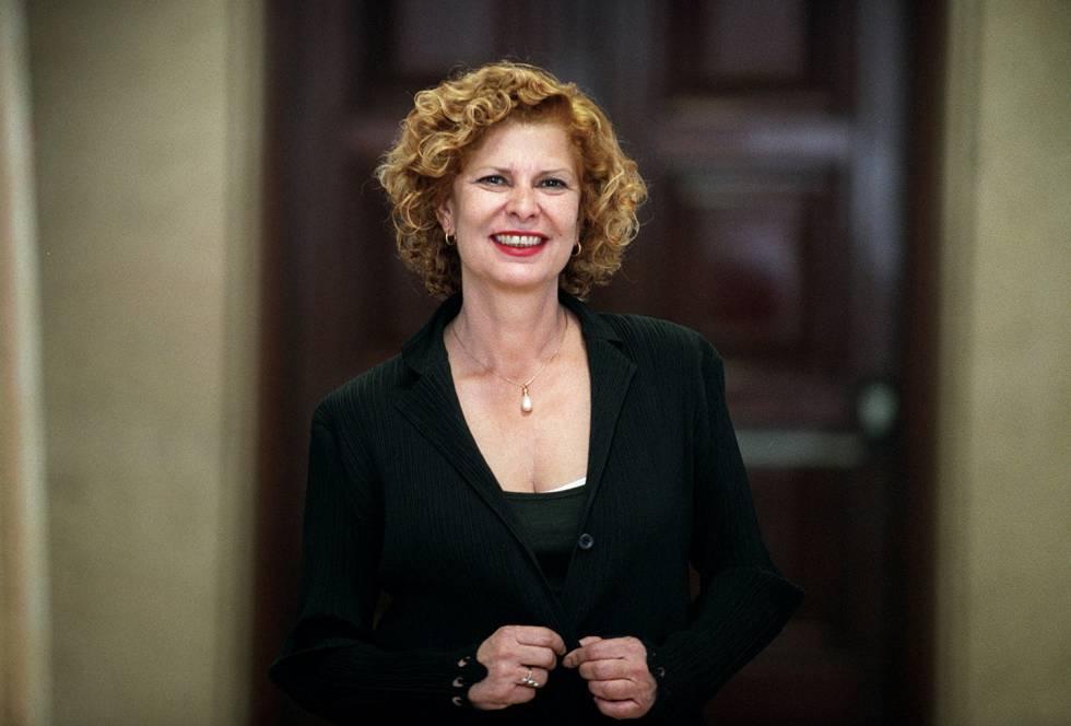 Carmen Alborch , política y escritora.