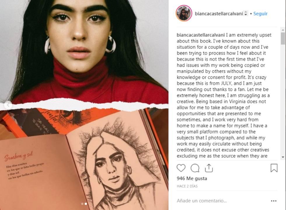 Aitana Reconoce Su Error Con La Autoría De Un Dibujo De Su Libro