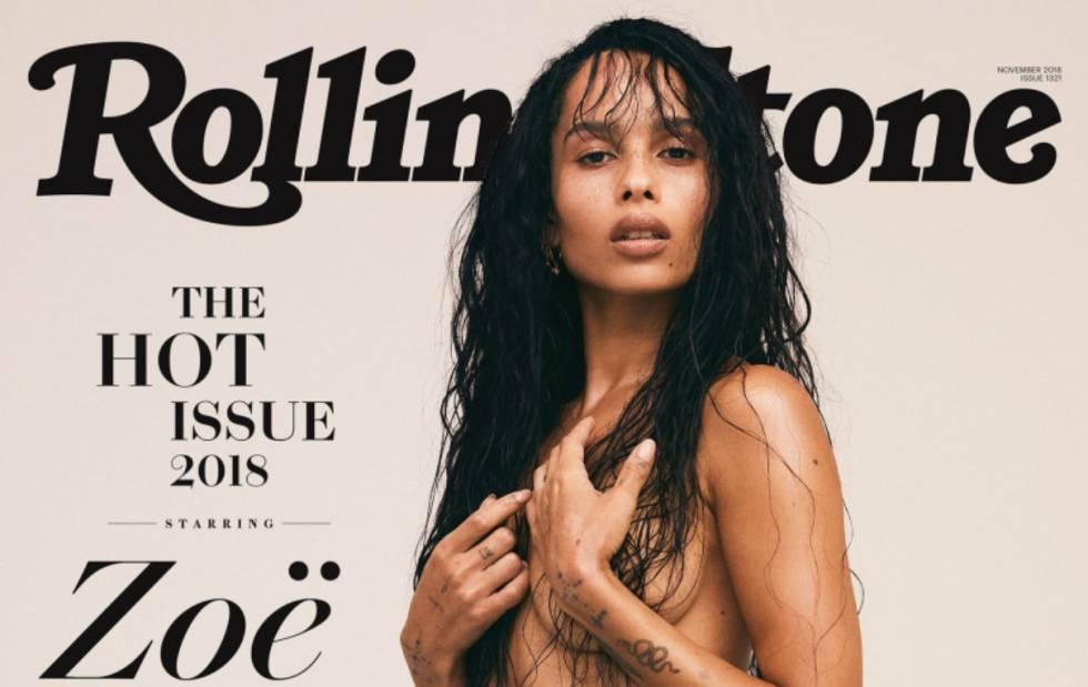 Zoe Kravitz Copia El Desnudo De Su Madre En La Portada De Rolling