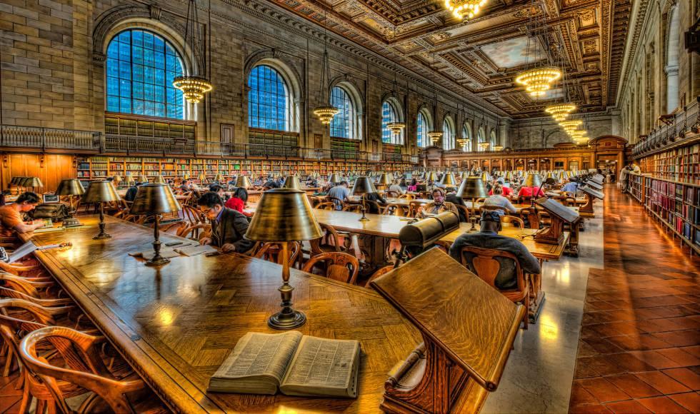 Biblioteca Pública de Nueva York, Estados Unidos