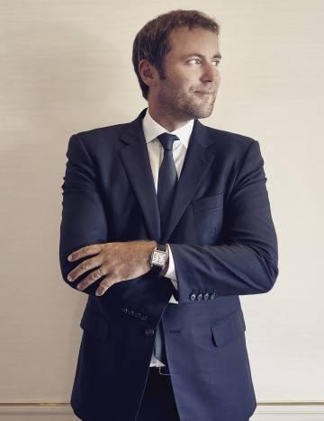 Arnaud Carrez, director de comunicación de Cartier.