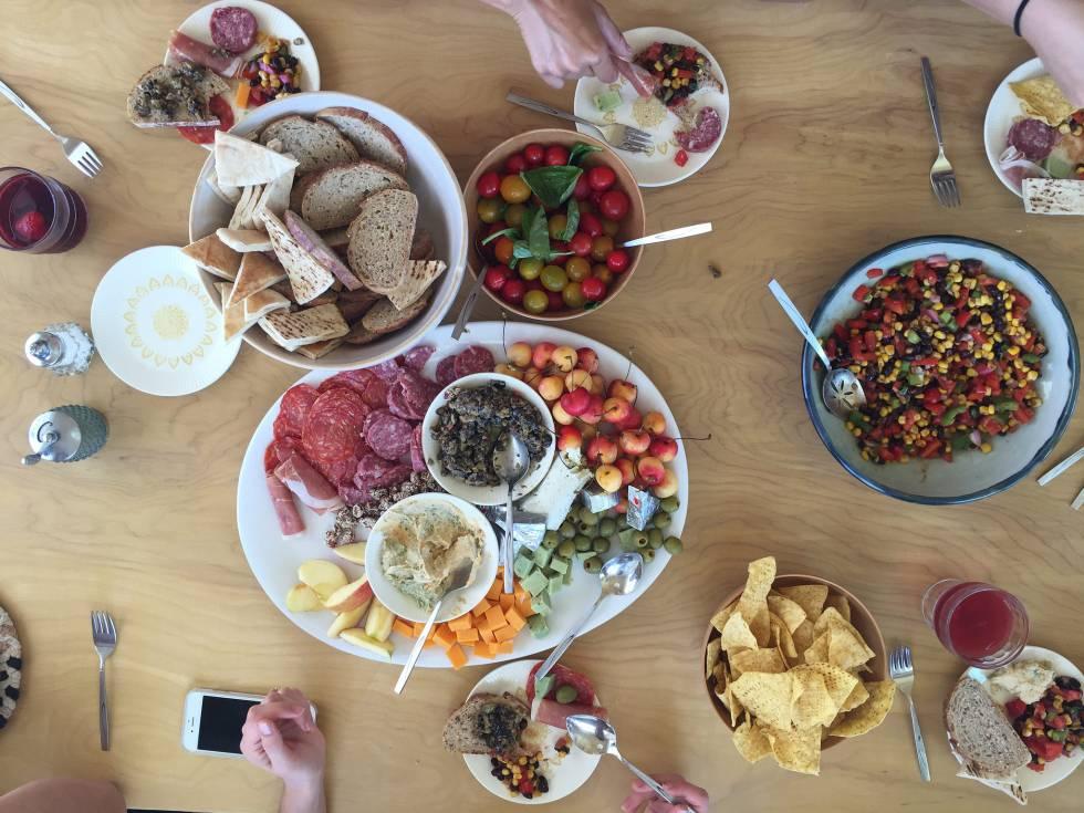 comiendo alimentos azucarados y diabetes