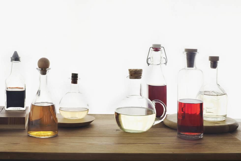 Beneficios de tomar agua con vinagre de manzana y bicarbonato