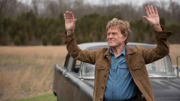 Redford num fotograma do filme 'The Old Man & The Gun'.