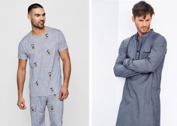 frioleros modernos calurosos Para o hombre pijamas 15 para invierno clásicos de Awxq1xdFn