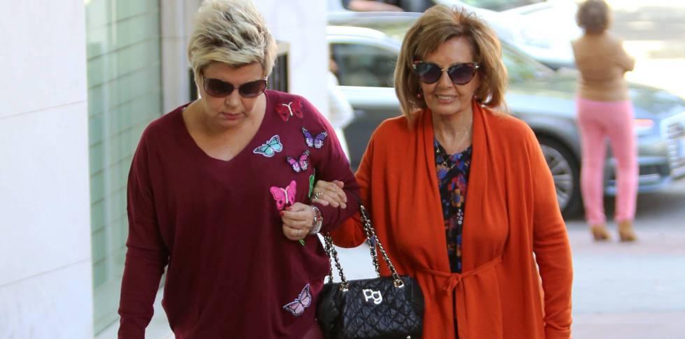 5b058b81e3 Terelu Campos con su madre María Teresa Campos el pasado 22 de octubre en  Madrid.