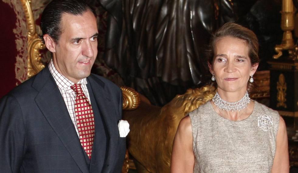 """Elena de Borbón y Jaime de Marichalar: del """"cese temporal de"""