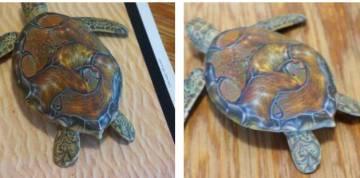 Tartarugas identificadas como rifles pelo sistema de visão artificial. ANISH ATHALYE