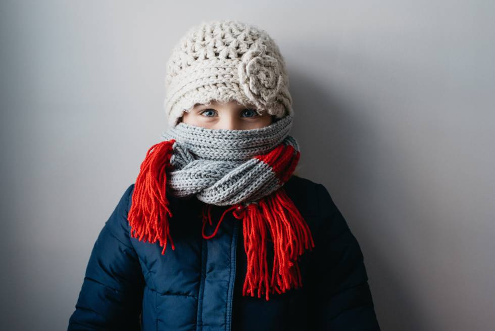 Seis pautas para proteger a los niños de las bajas temperaturas