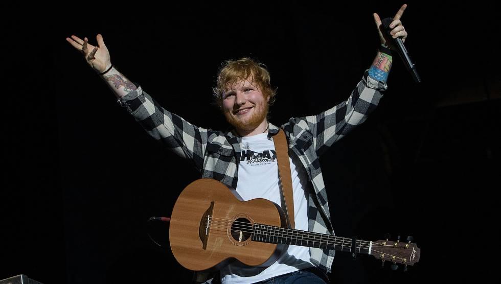 Ed Sheeran, autor de Shape Of You, canción que ha rebasado los 1.000 millones de escuchas en Spotify.
