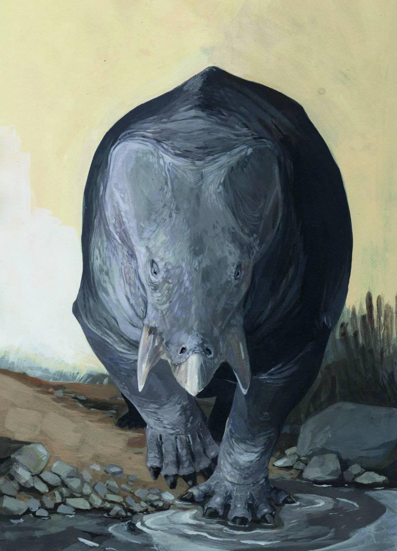 Descubierto un antepasado gigante de los mamíferos que rivalizó con los dinosaurios 1542905117_243498_1542905728_sumario_normal