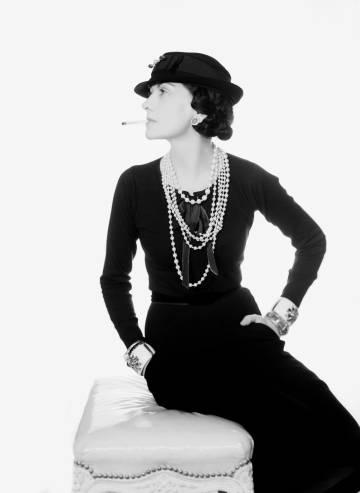La diseñadora Coco Chanel, en 1935.